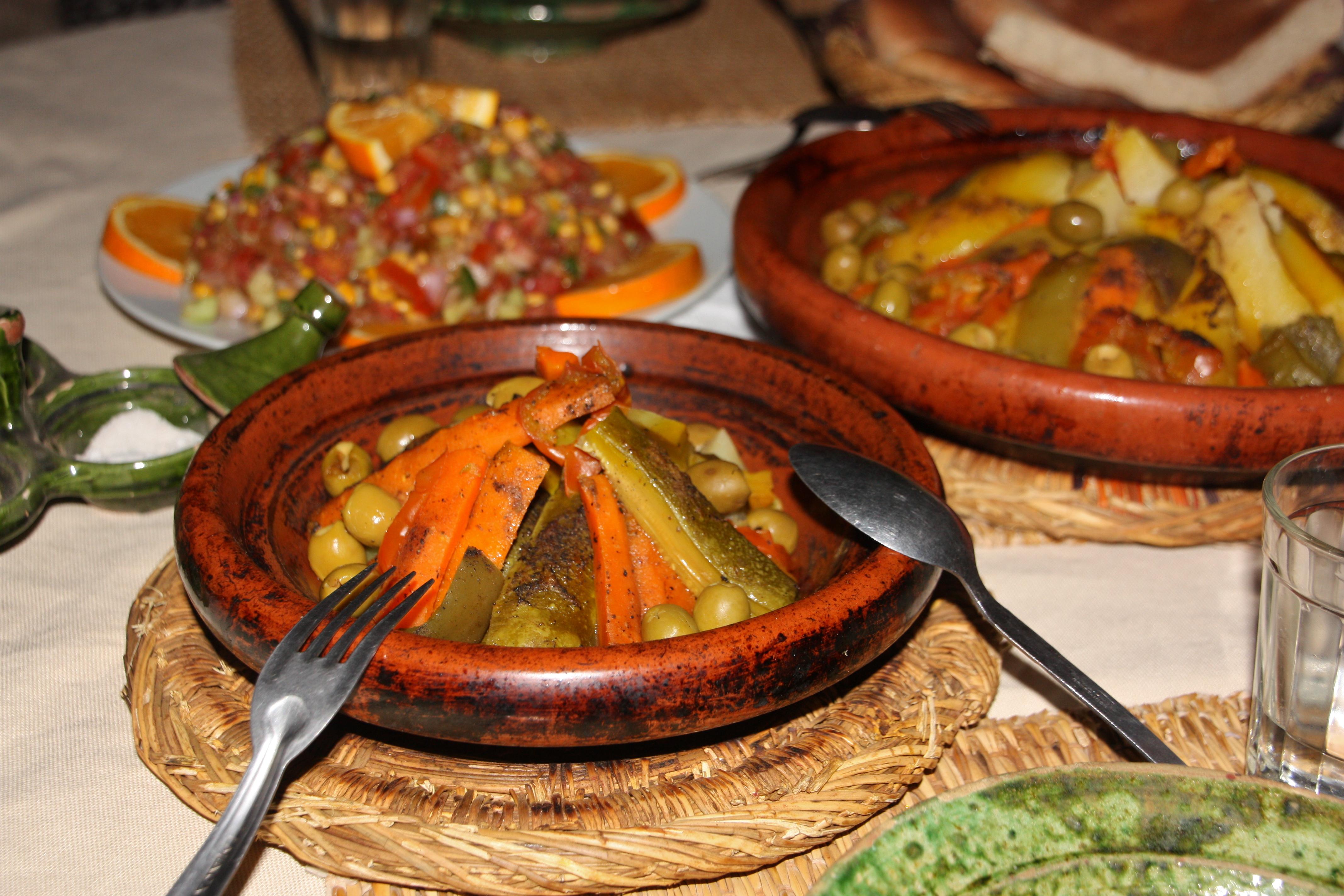 Marokko ruoka saharan retki vinkit