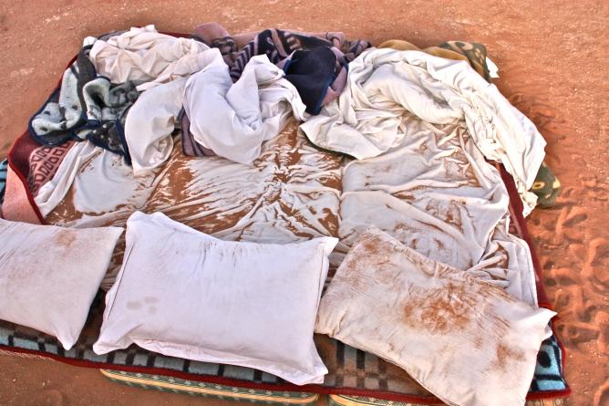 Sahara teltta yö marokko