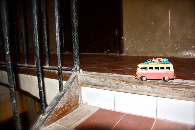 Kleinbus pakettiauto