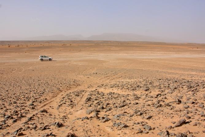 Saharan autiomaa
