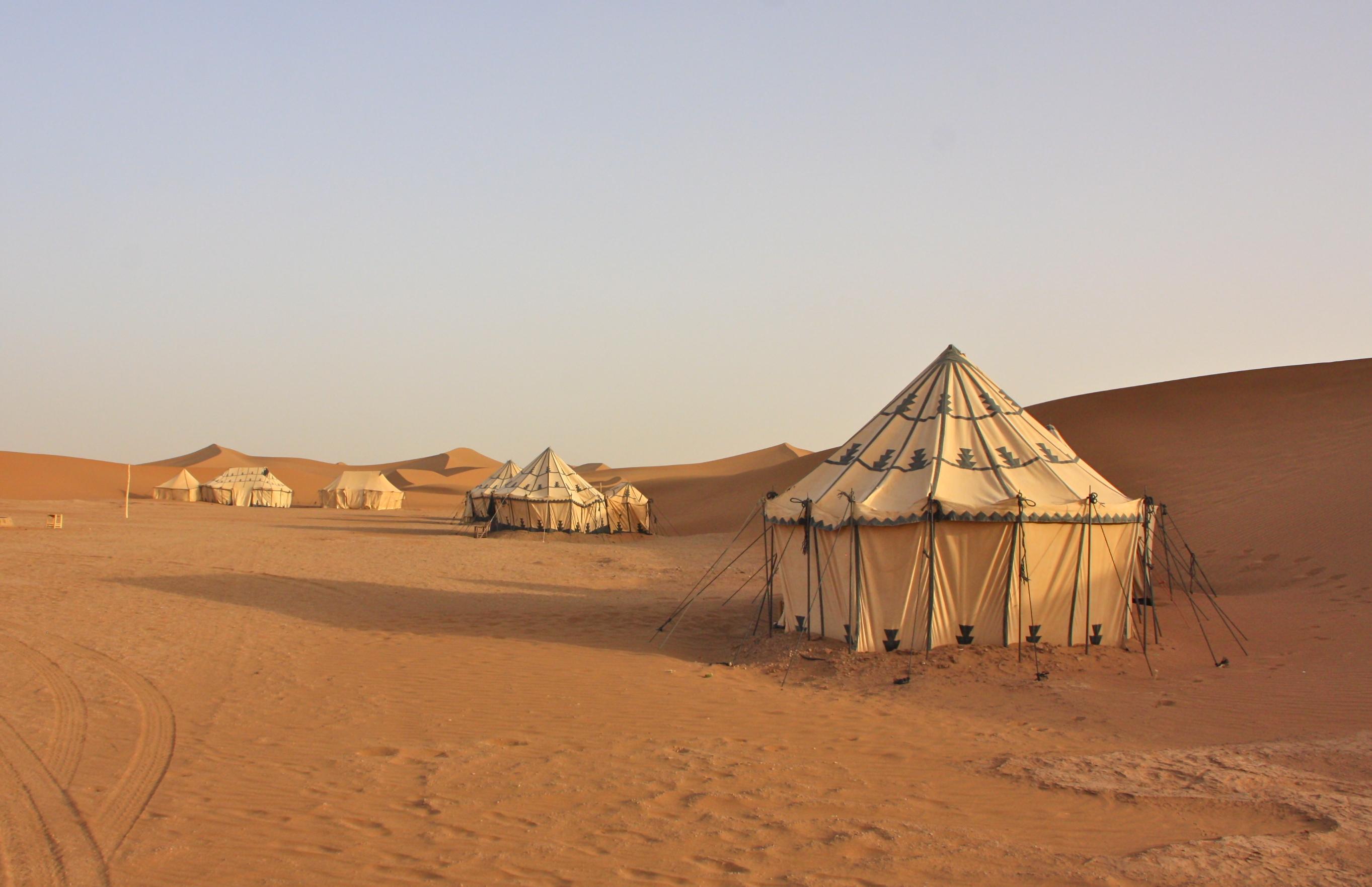 Erg Chegaga desert camp marokko
