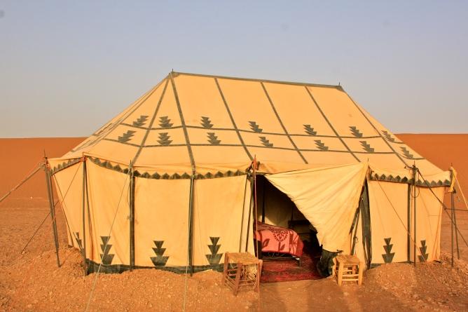 Erg Chegaga desert camp, Morocco