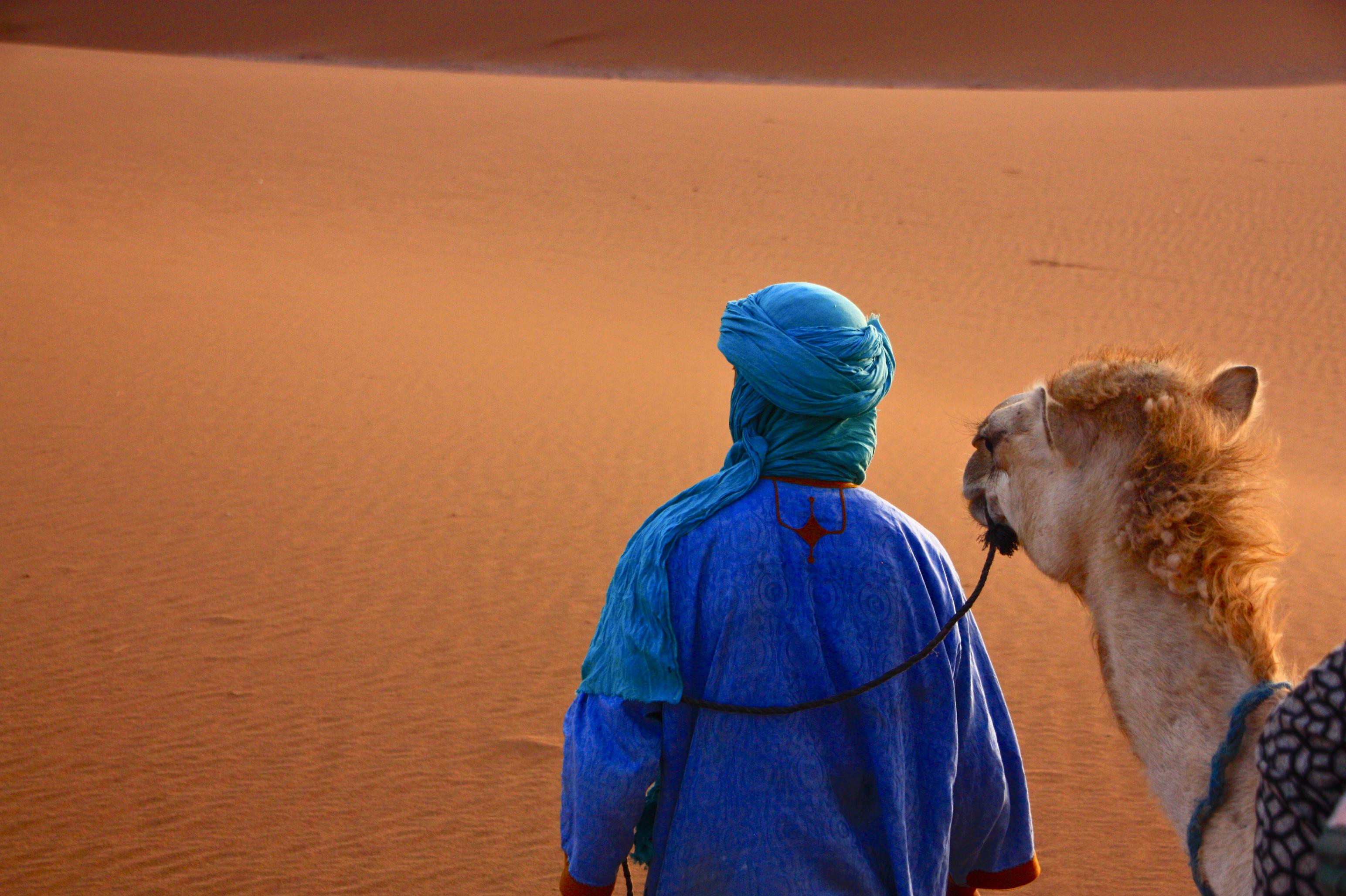 Sahara Marokko Erg chegaga