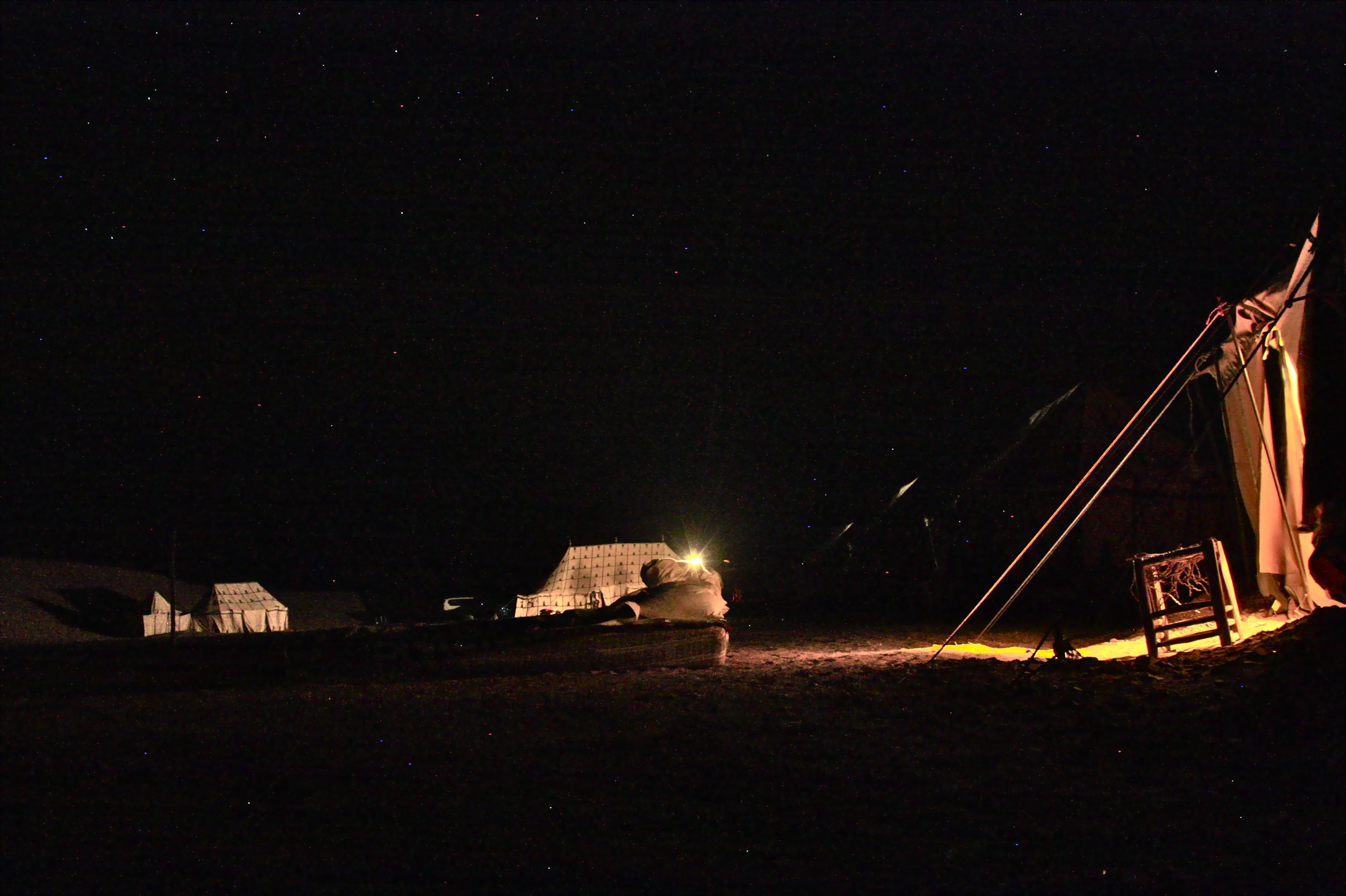 Sahara marokko yö