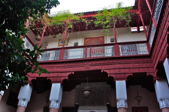Riad marokko majoitus