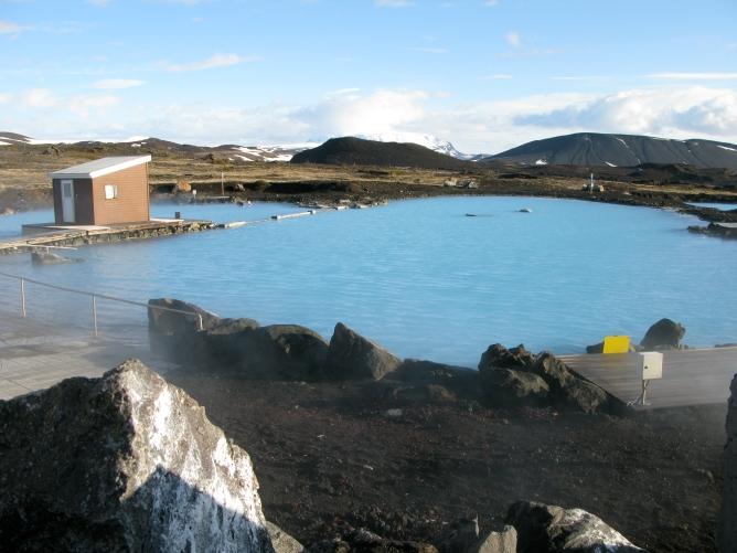 Islanti Myvatn spa