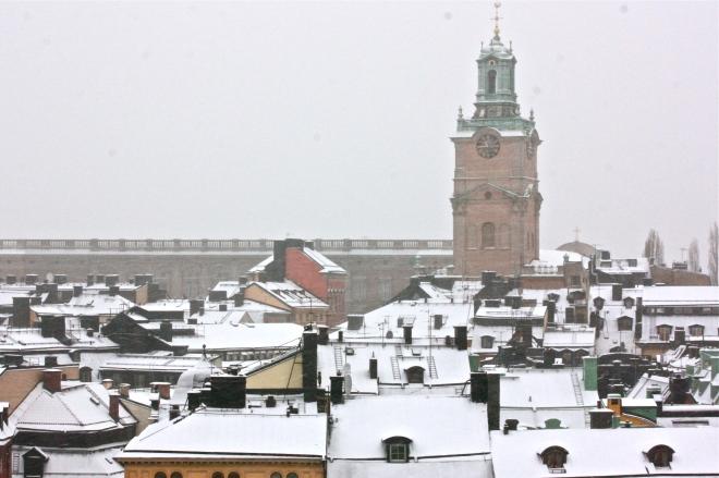 Takvandring, Stockholm