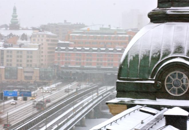 Takvandring Stockholm