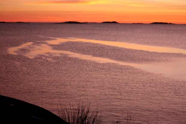 helsingin auringonlasku suomenlinna